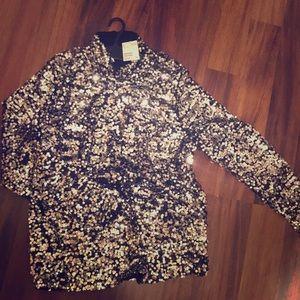 Never worn! Brand new sequin top! H&M